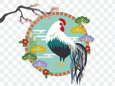Oga chicken and plum tree 1