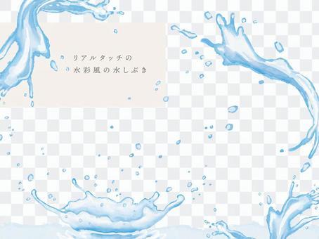 사용하기 쉬운 손의 물보라 집