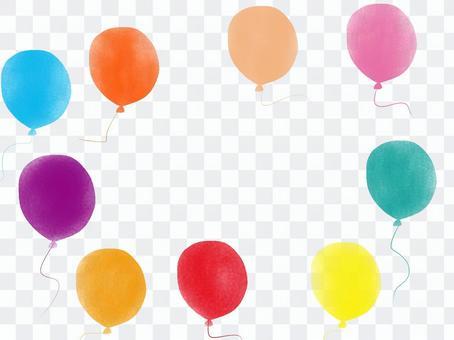 氣球和天空