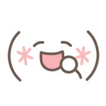 面對圖釋微笑微笑微笑