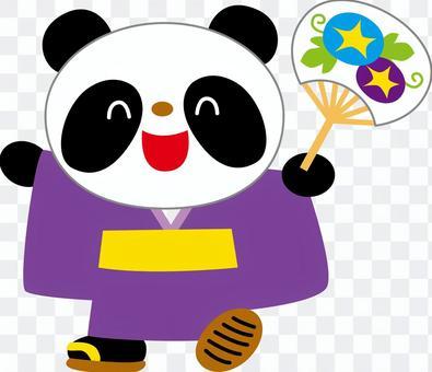 內河熊貓和服