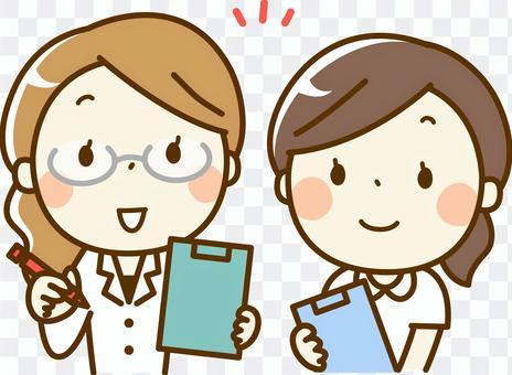 女醫生和護士