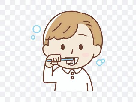 Toothpaste kid