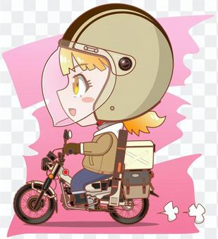 我們去騎摩托車釣魚吧!