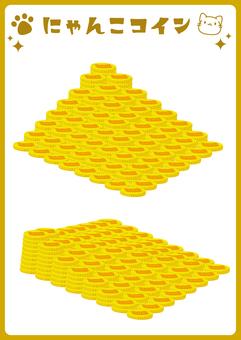 Nyanko coin 3(堆疊硬幣)