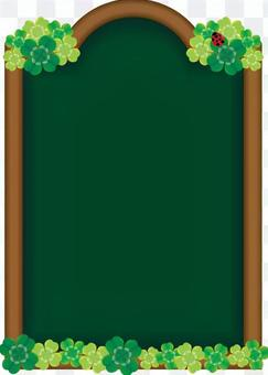 Board with A4 Clover