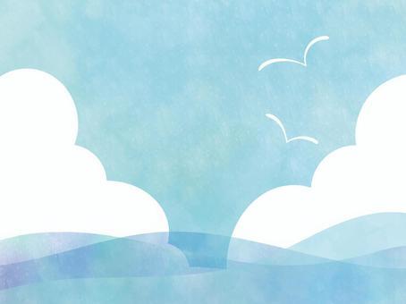 天空和海框架ver 01