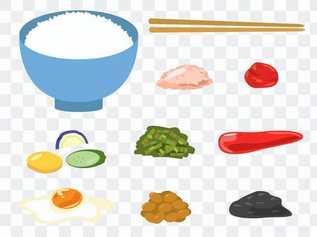 最好的一套米飯