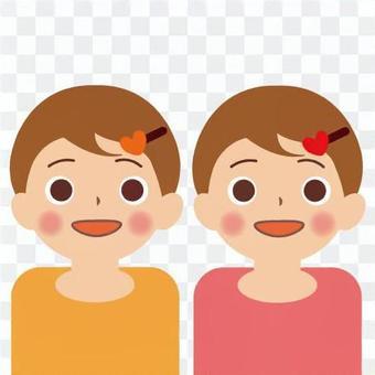 寶貝(女孩和雙胞胎)