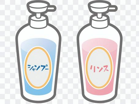 洗髮水和護髮素