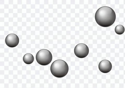 金属風ボール03