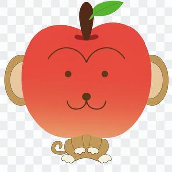 蘋果像猴子一樣的動物