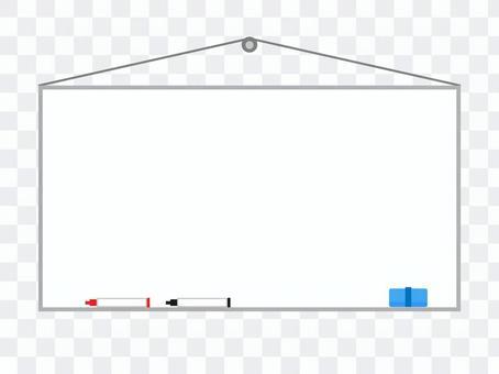 白板插圖壁掛式