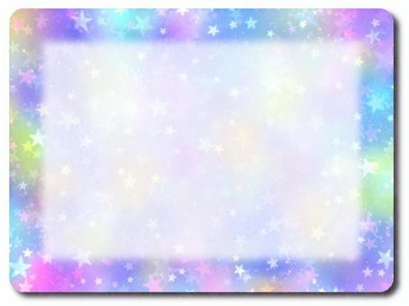 空間圖案紫色橫幅