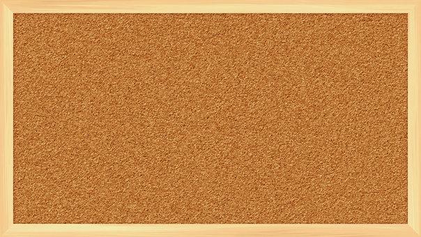 逼真的木框軟木板全高清