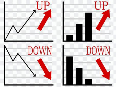 Graph set red