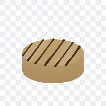 圓形摩卡巧克力(無輪廓)