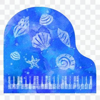 Sea piano