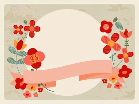 斯堪的纳维亚花框架