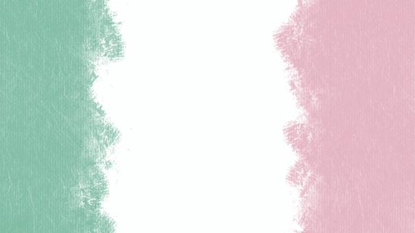 Italian crayon flag