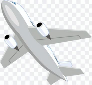 Airplane jet machine