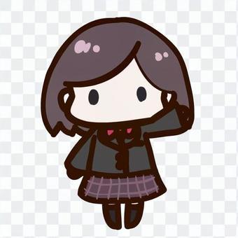 Female student 4