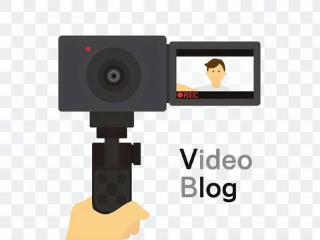 Vlog(ブイログ)_動画を撮影する人