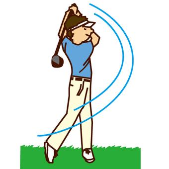 高爾夫男子