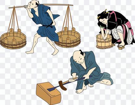 Edo period common people