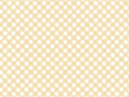 對角線筆跡風格格子格紋背景:黃色
