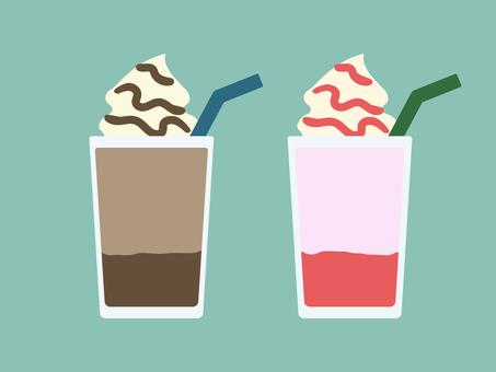 簡單可愛的甜點飲品