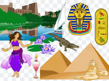 Egypt image illustration