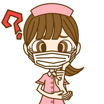 疑惑的女人①/護士/面具