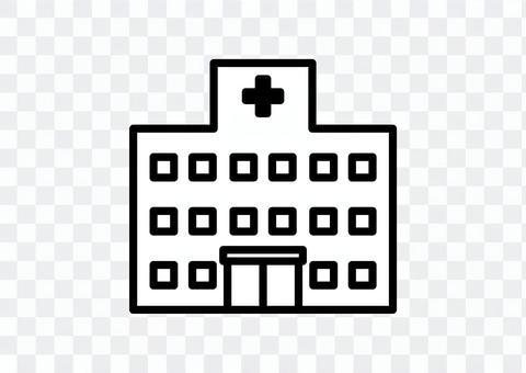 病院のアイコン 01