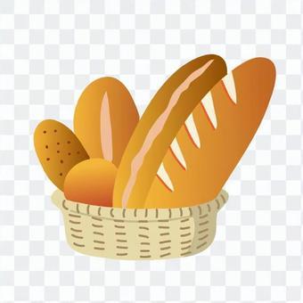 籃子裡的麵包
