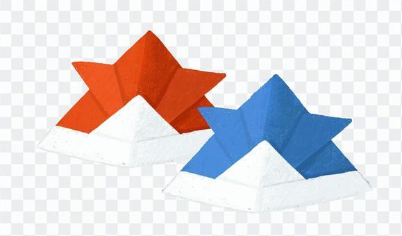 摺紙頭飾2
