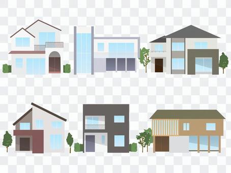 現代住宅插圖集