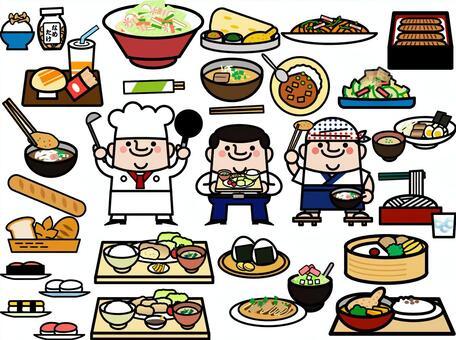 仙女叔叔午餐吃什麼?