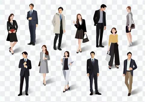 辦公室時尚男女【1】