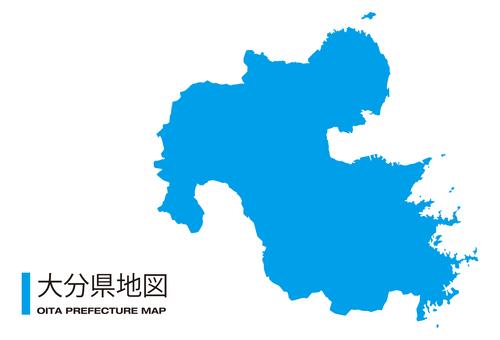 大分縣_地圖