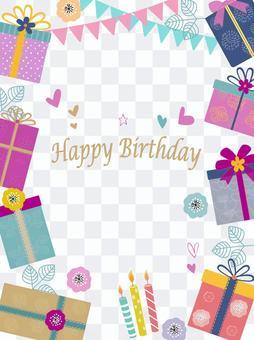Birthday card gift box 2