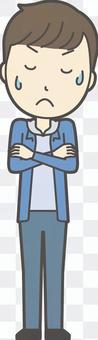 中学生男子私服-024-全身