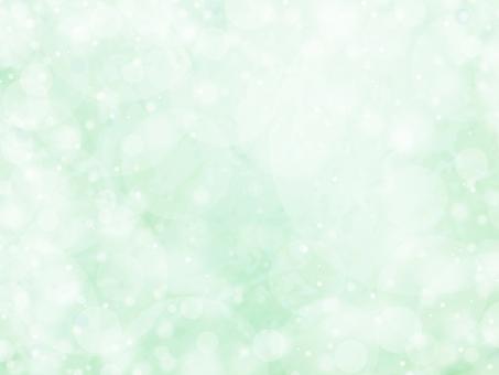 Fantastic ball bokeh background_emerald green