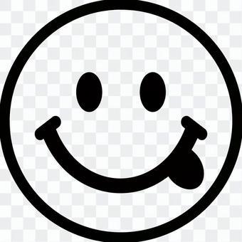笑臉 Nico-chan 標記插圖素材