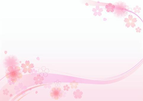 櫻花材料147