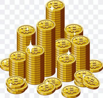 位硬幣堆疊