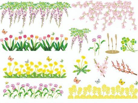 花套春天和初夏