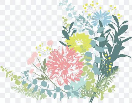 Bouquet template