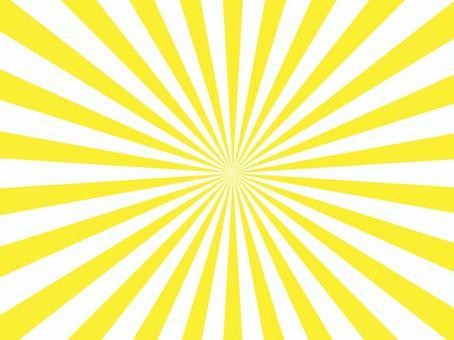 背景黃色輻射放射狀