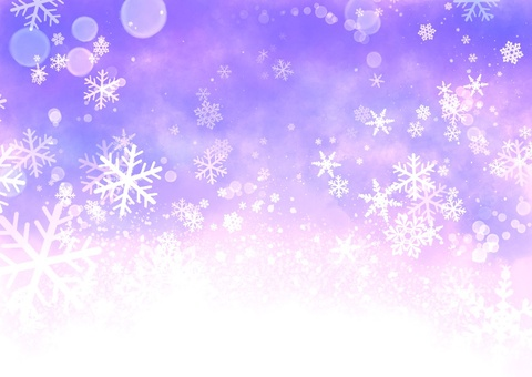 Yume可愛的雪景